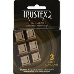 Trustex-Chocolate Condoms 3pk