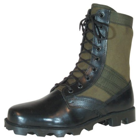 Vietnam Jungle Boot in olive drab by Fox Outdoor