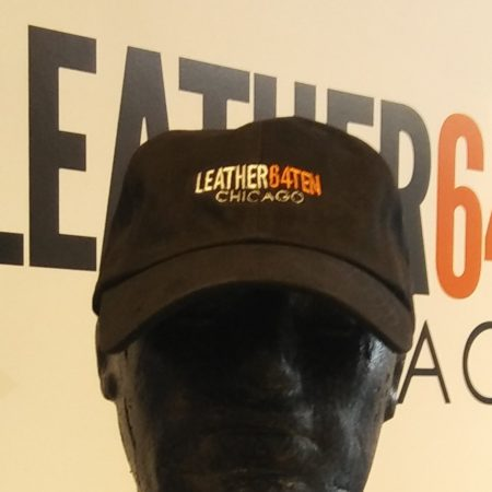 Leather64Ten logo cap