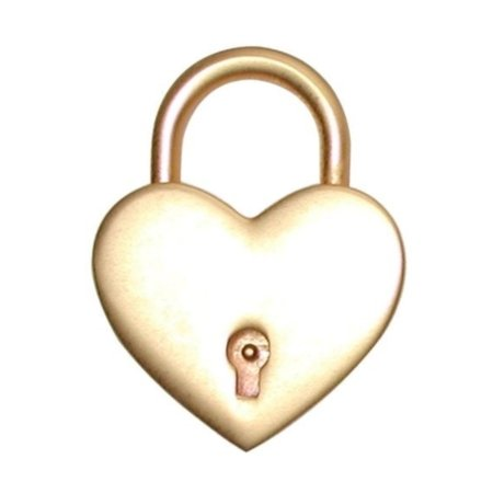 Gold Heart Lock