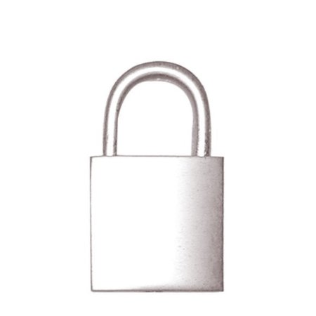 Padlock 20mm Chrome Polished