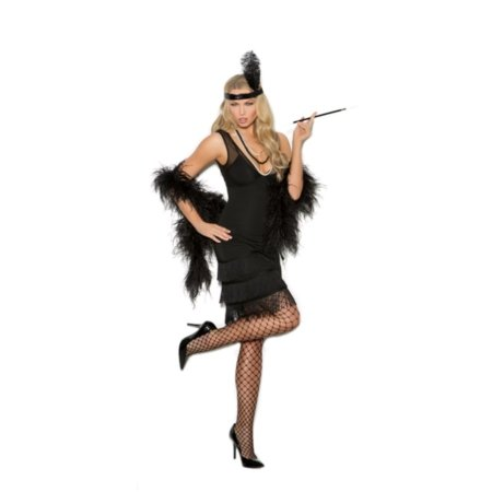 Sexy Flapper 1920's Style Fringe Dress Halloween Costume