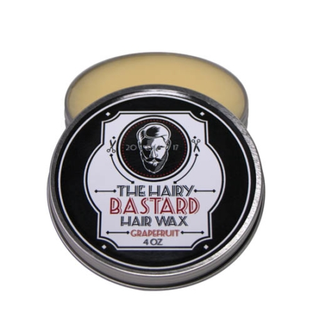 Grapefruit Hair & Beard Wax by The Hairy Bastard