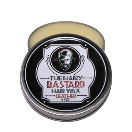 Leather Scented Hair & Beard Wax by The Hairy Bastard