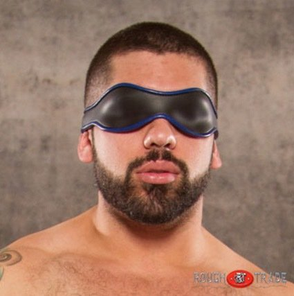 Ransom Neoprene Blindfold by Rough Trade Gear