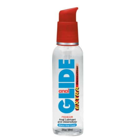 Anal Glide Extra Lubricant And Desensitizer Water Based 2 Ounce
