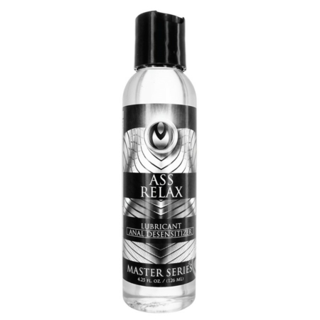 Master Series Ass Relax Desensitizing Numbing Lube 4.25oz