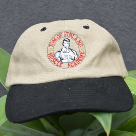 TOM OF FINLAND MUSCLE ACADEMY BASEBALL HAT
