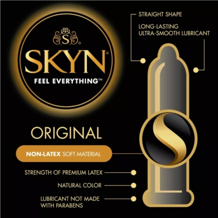 Lifestyles SKYN Lubricated Non-Latex Condoms