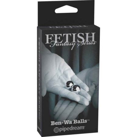 Fetish Fantasy Series Limited Edition Ben-Wa Balls Silver 0.75 inches in box