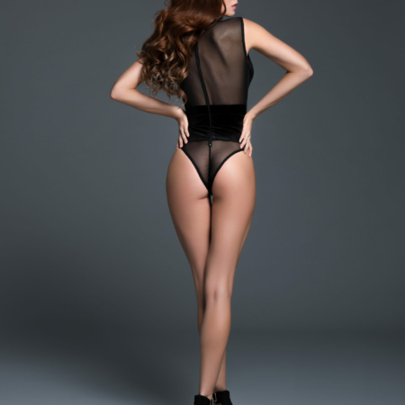 Adore by Allure CHLOE the Cat Eyes Bodysuit Small back