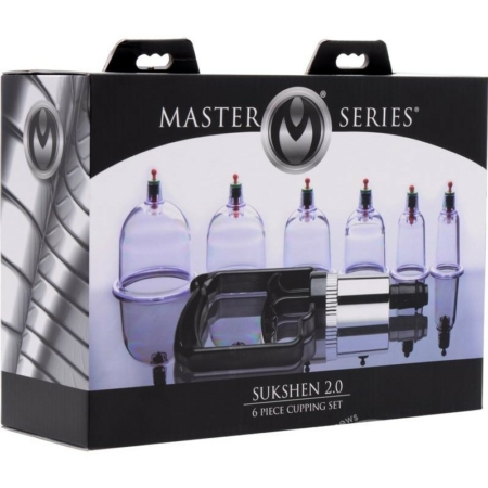Master Series SUKSHEN 2.0 Cupping 6 Piece Set in box