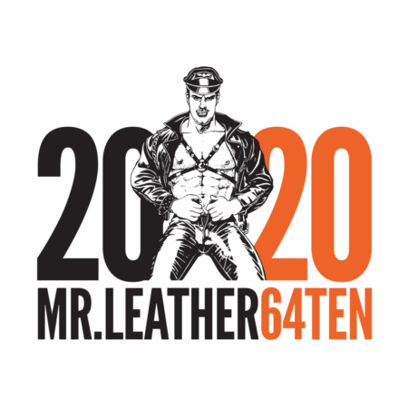 2020 MR.LEATHER64TEN Contest Pin
